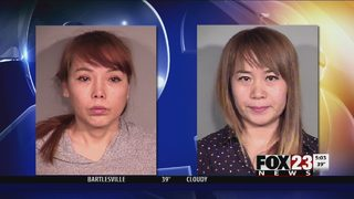 Two arrested in prostitution bust at Broken Arrow massage parlor