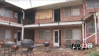 Almost 60 people displaced after east Tulsa apartment fire