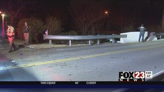 VIDEO: Man hospitalized after chase, crash