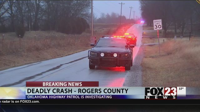 FATAL CRASH: OHP responding to crash in Rogers County | FOX23