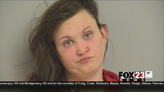 Tulsa woman accused of biting off part of woman