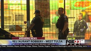 Tulsa police investigating Subway armed robbery