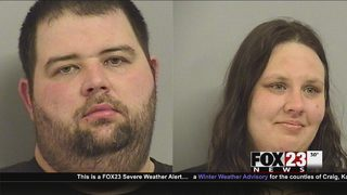 Couple accused of drug trafficking arrested in north Tulsa