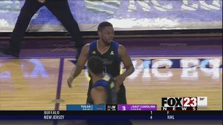 Igbanu, Horne carry Tulsa over East Carolina 77-73 in OT