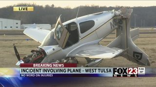 Crews responding to plane crash at Jones Riverside Airport