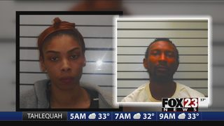 Three people arrested, accused conspiracy and intimidation of a witness in Muskogee