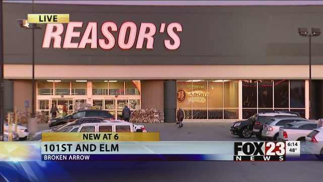 BROKEN ARROW: Reasor's to Close South BA Store | FOX23