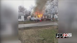 Woman burned in trailer fire in north Tulsa