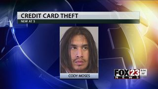 Police: Man accused of shoplifting found with nearly 20 likely stolen payment cards