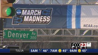 VIDEO: Tulsa businesses preparing for busy weekend with NCAA tournament at BOK Center