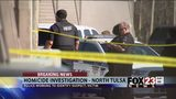VIDEO: Police working to identify suspect  and victim in north Tulsa apartment shooting