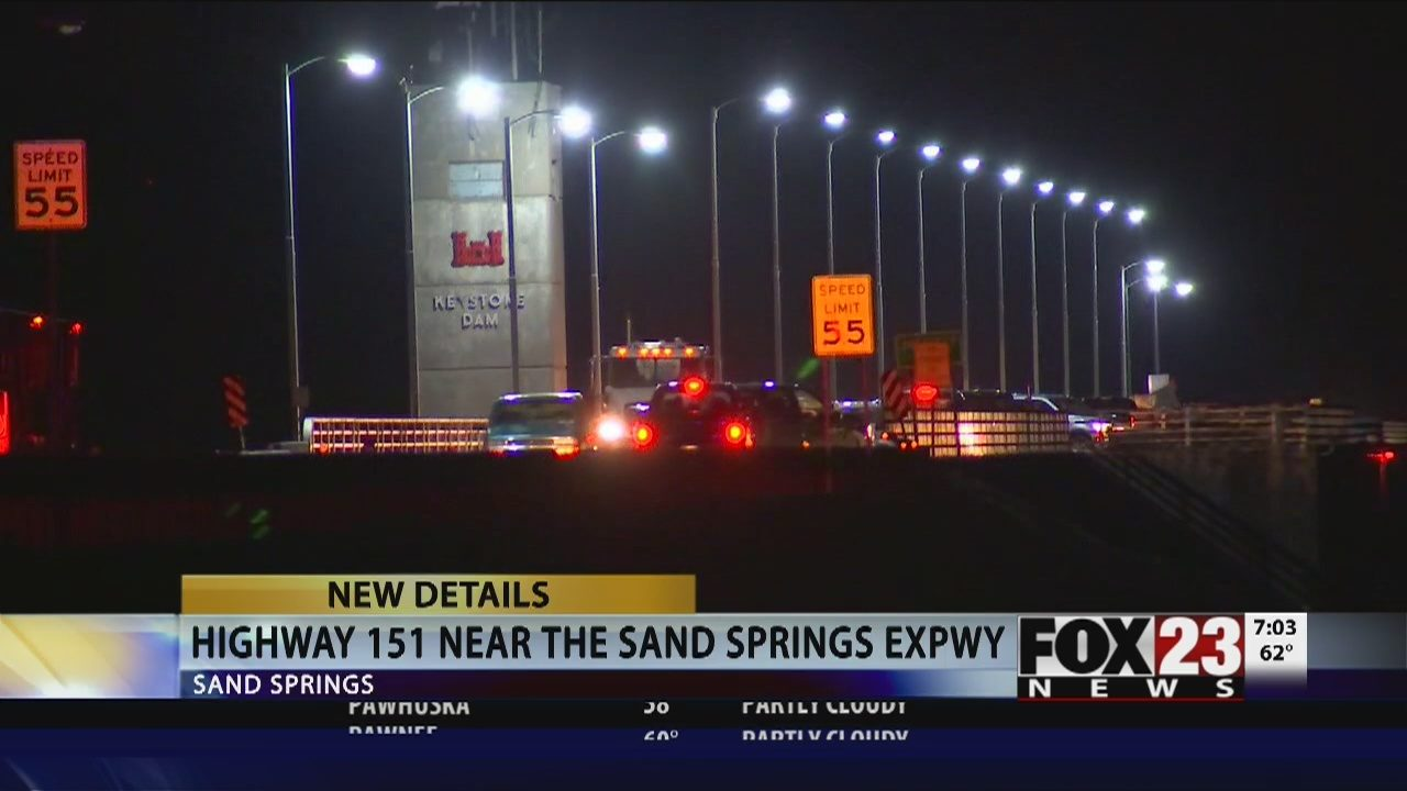 UPDATE: OHP response to fatal crash near Sand Springs | FOX23
