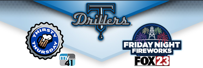 Tulsa Drillers - My41 and FOX23 Nights