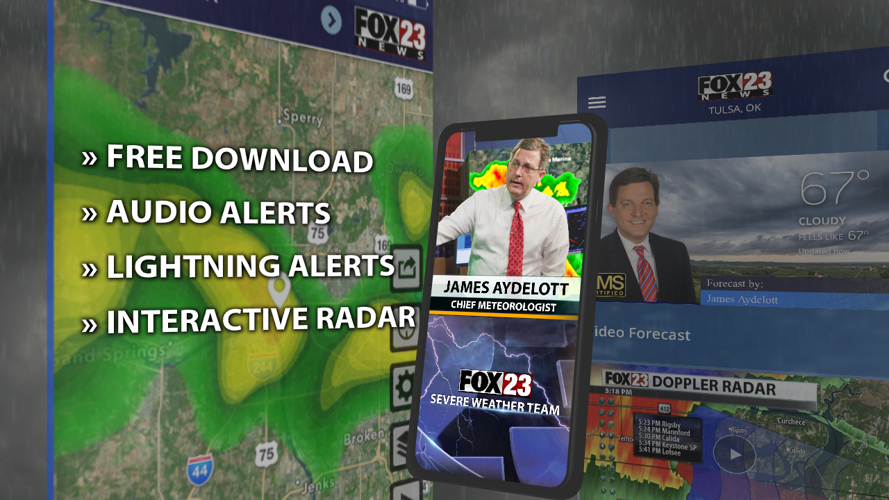 What you need to know about the FOX23 weather app | FOX23