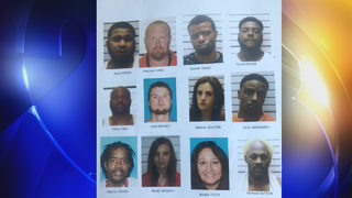 Muskogee County meth network bust: 40 people charged in connection