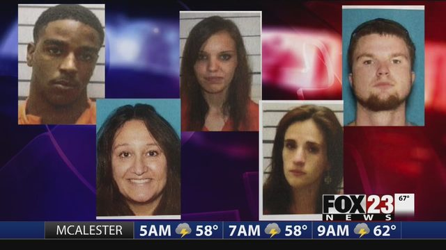 Muskogee County meth network bust: 40 people charged in