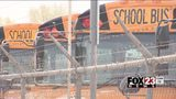 VIDEO: Man arrested, accused of stealing Tulsa Public Schools bus