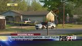 VIDEO: Police investigate shooting in east Tulsa