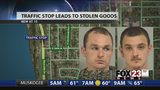 VIDEO: Two arrested after Tulsa traffic stop uncovers guns, drugs and stolen credit cards