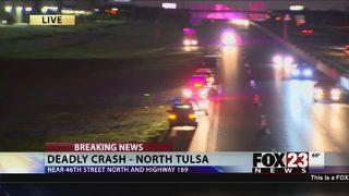 One dead after north Tulsa crash