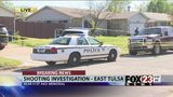 VIDEO: Officers investigating person shot in east Tulsa