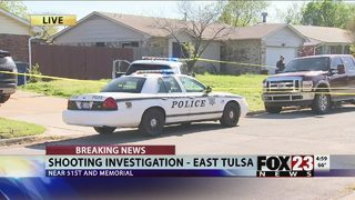 Police: One shot in the stomach in east Tulsa
