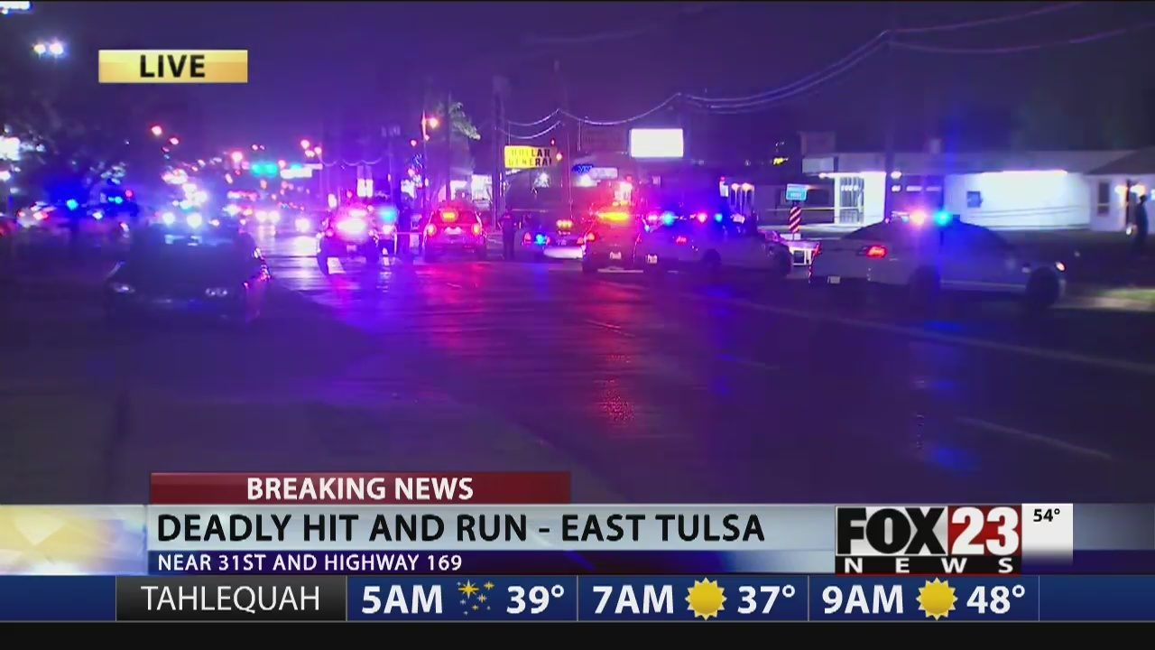 UPDATES: Police responding to fatal accident in east Tulsa