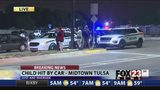 VIDEO: Police respond to hit-and-run crash near Gathering Place in Tulsa