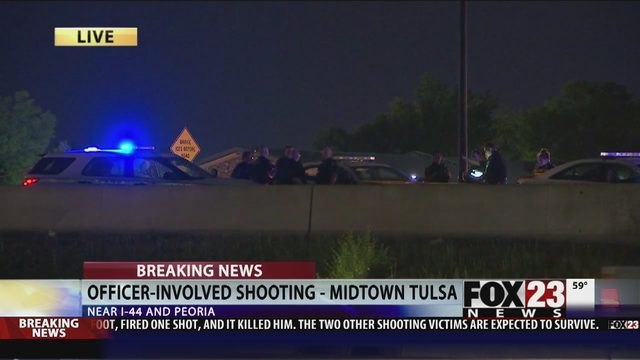 TULSA SHOOTING: One Killed In Officer-Involved Shooting | FOX23