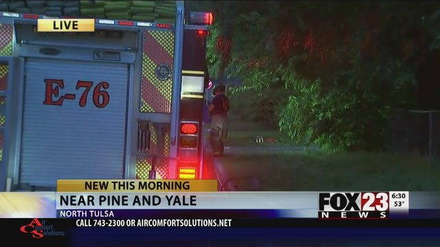Family escapes house fire in north Tulsa, pets die   FOX23