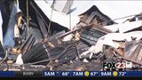 VIDEO: Businesses destroyed after fire at Tahlequah shopping center
