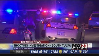 Police investigate shooting at south Tulsa apartment