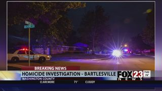 Bartlesville police arrest man after deadly shooting