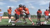 WATCH - Booker T. football rebuilding after losing large senior class