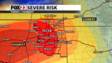 Severe Storm Chances for Monday, May 20, 2019