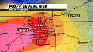 Severe weather expected for Green Country; Tornado Watch issued