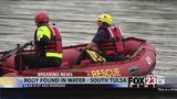 VIDEO: Body found in river in south Tulsa