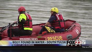 Body found in water in south Tulsa