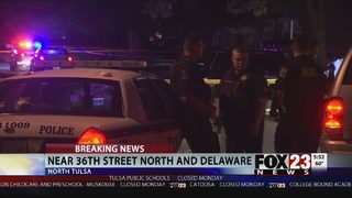 Police: One man shot in north Tulsa, search for suspects underway