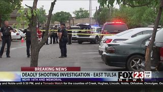 Multiple people shot in deadly shooting in east Tulsa, suspect arrested