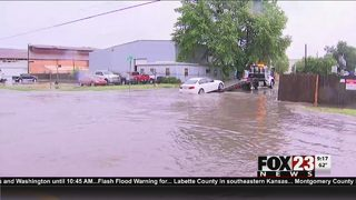 Flooding, road issues across Green Country after flooding