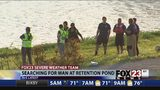 VIDEO: Water rescue team search for man reportedly seen in Arkansas River in Tulsa