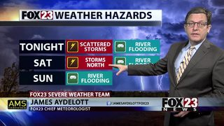 FOX23 tracking more severe weather chances ahead
