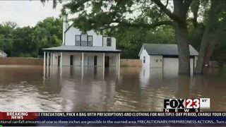 Flooding impacting areas throughout Green Country