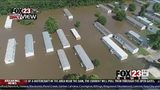 VIDEO: Flooding continues to rise in Muskogee