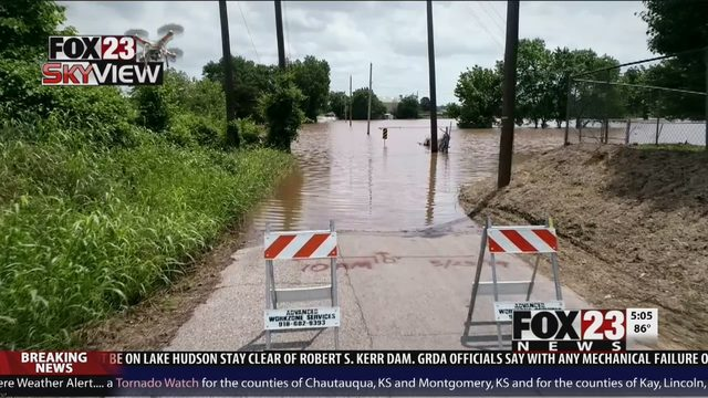 TULSA WEATHER: Flash Flooding Road Closures In Green Country