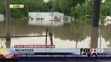 VIDEO: Water rising as flooding continues in Muskogee