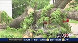 VIDEO: Officials warning people to stay away from damaged areas so crews can restore power