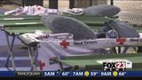VIDEO: American Red Cross takes care of storm victims at Tulsa area shelters