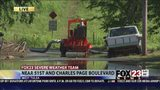 VIDEO: West Tulsa neighbors remain vigilant as floodwater recedes